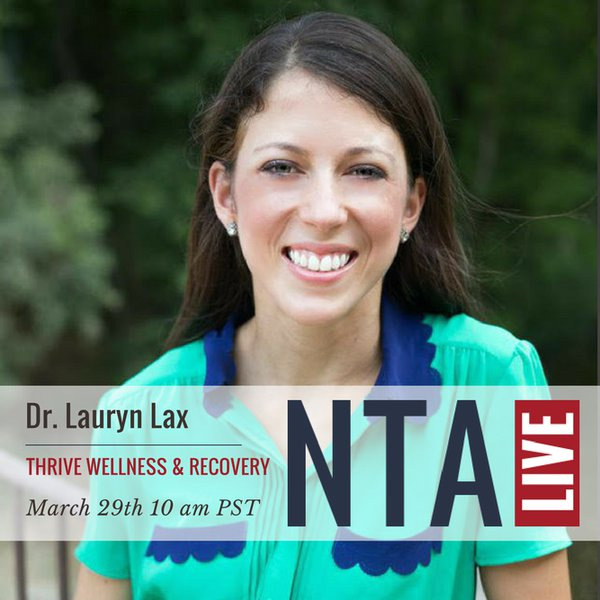 NTA Live Series with Dr. Lauryn Lax