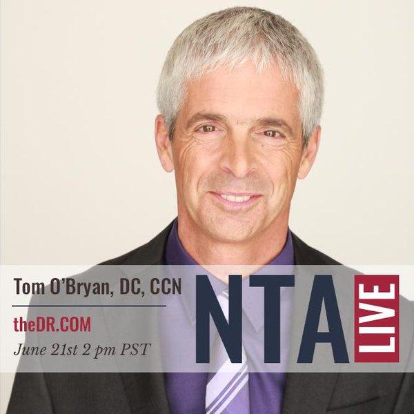 NTA LIVE Series with Dr. Tom O'Bryan