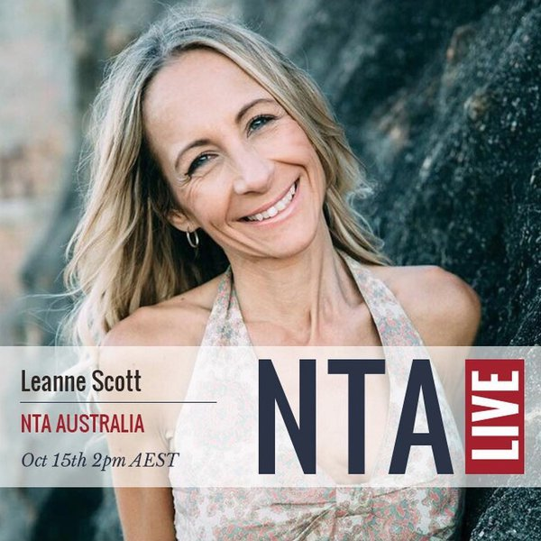 NTA LIVE Series with Leanne Scott