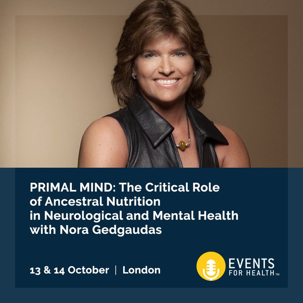 Upcoming events re find health primal mind with nora gedgaudas malvernweather Choice Image