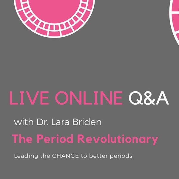 Period Repair Q&A with Dr. Lara Briden
