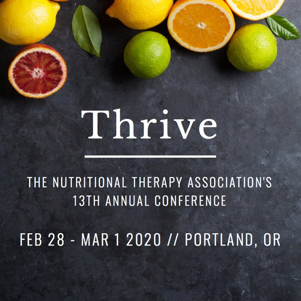 The NTA's 13th Annual Conference, Thrive
